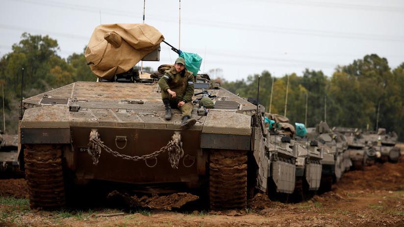 """Netanyahu: Tropas israelíes permanecerán cerca de Gaza listas para una """"campaña extensa"""" si es necesario"""