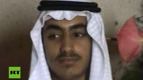 Hamza, hijo de Osama bin Laden, en una imagen sin fecha publicada por la CIA.