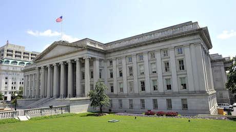 El Departamento del Tesoro de los Estados Unidos.