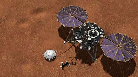 La sonda InSight de la NASA en Marte