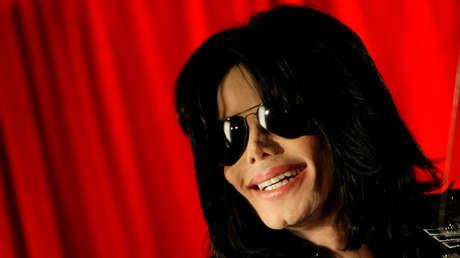 Michael Jackson durante una conferencia de prensa en el O2 Arena en Londres, el 5 de marzo de 2009.