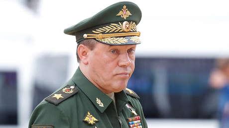 El jefe del Estado Mayor de las Fuerzas Armadas rusas, Valeri Guerásimov.