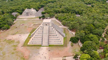 El templo de Kukulkán, también conocido como el Castillo, en Chichén Itzá (México).