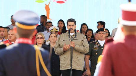 Nicolás Maduro en Caracas, el 5 de marzo de 2019.