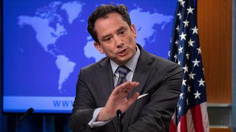 El portavoz adjunto del Departamento de Estado norteamericano, Robert Palladino.