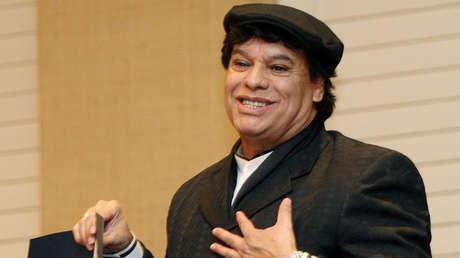 El cantautor mexicano Juan Gabriel en una foto de 2009.