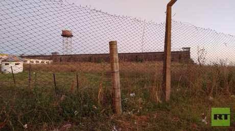 Cárcel 'Sierra Chica' de máxima seguridad en la ciudad de Olavarría.