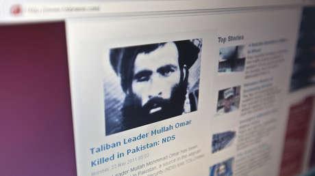 La noticia de la posible muerte del Mulá Omar, publicada por la web de Tolonews, el 23 de mayo de 2011.