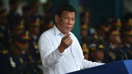 Rodrigo Duterte, el 8 de agosto de 2018.