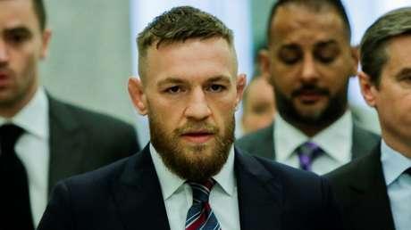 El luchador irlandés Conor McGregor