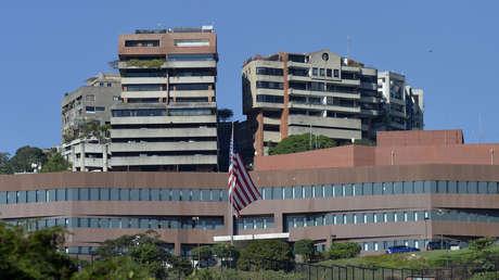 La Embajada de EE.UU. en Caracas, Venezuela, el 27 de enero de 2019