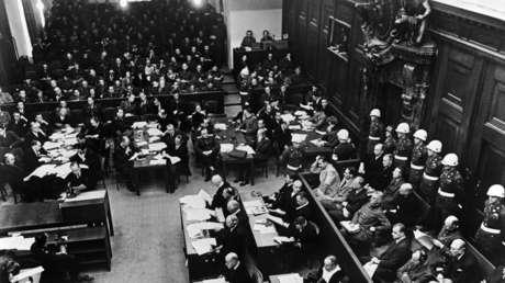 Tribunal Militar Internacional, Núremberg, Alemania, noviembre de 1945.