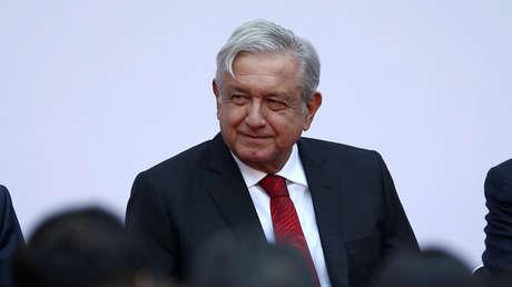 El presidente de México, Andrés Manuel López Obrador, en un acto por los primeros 100 días de su Gobierno, Ciudad de México, 11 de marzo de 2019.