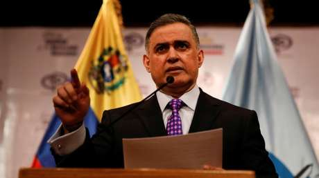 El fiscal general de Venezuela, Tareck William Saab