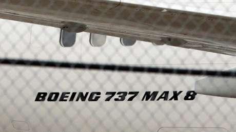 Un Boeing 737 MAX 8 de la aerolínea Air Canada en el Aeropuerto Internacional Toronto Pearson, Canadá