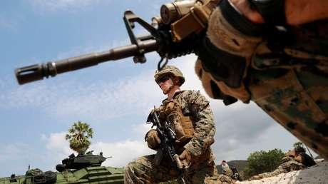 Soldados estadounidenses. Imagen ilustrativa.