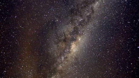 Una vista de la Vía Láctea.