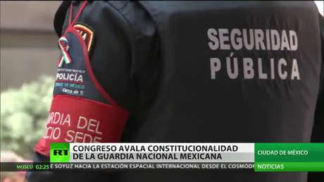 El Senado de México avala la constitucionalidad de la Guardia Nacional