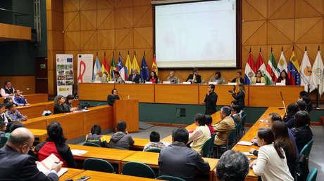Presentación del avance del programa 'Bridging the gap', en Quito, Ecuador, 13 de marzo de 2019.