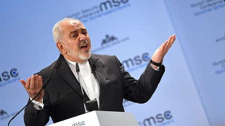 El ministro de Exteriores de Irán, Mohammad Yavad Zarif, en Múnich, Alemania, el 17 de febrero de 2019.