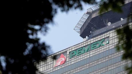Edificio de las oficinas de Pemex en Ciudad de México, en una imagen del 5 de marzo de 2019.