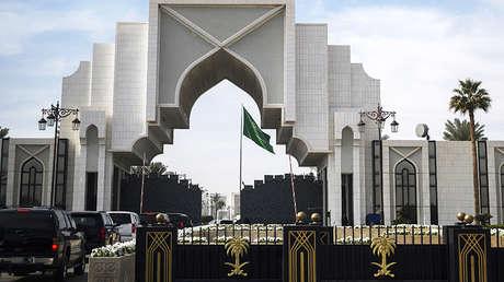 Corte Real de Arabia Saudita en Riad.
