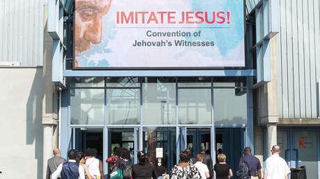 Testigos de Jehová en Bélgica, el 3 de julio de 2015.