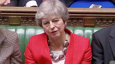 La primera minsitra británica, Theresa May