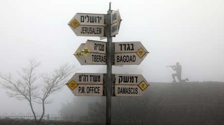 El monte Bental, un puesto de observación en los Altos del Golán ocupados por los israelíes, el 25 de marzo de 2019.