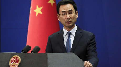 El portavoz del Ministerio de Asuntos Exteriores, Geng Shuang
