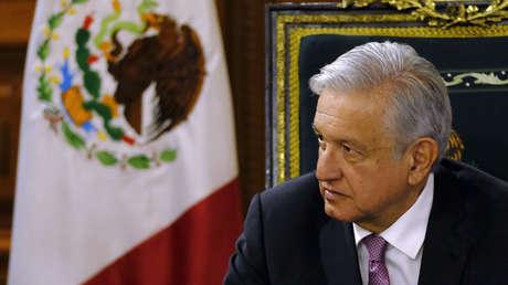 Andrés Manuel López Obrador durante el segundo día de una misión económica belga a México, el lunes 18 de febrero de 2019.