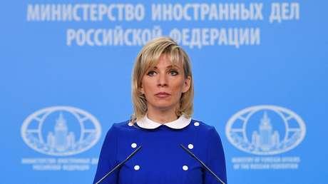 La portavoz del Ministerio de Asuntos Exteriores ruso, María Zajárova