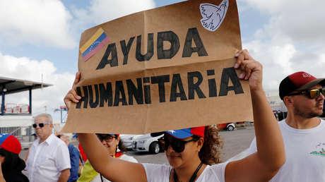 Seguidores del líder opositor Juan Guaidó en Curazao, Países Bajos