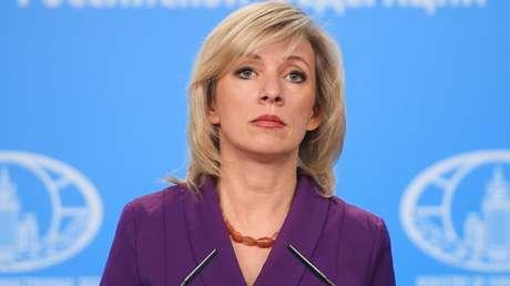 La portavoz del Ministerio de Asuntos Exteriores de Rusia, María Zajárova