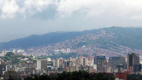 Vista general de Caracas, Venezuela.