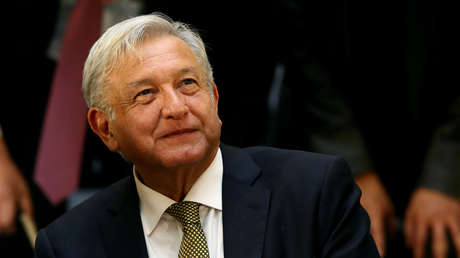 El presidente de México, Andrés Manuel López Obrador, en una reunión con empresarios, Ciudad de México, 17 de diciembre de 2018.