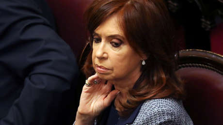 La expresidenta argentina y senadora, Cristina Fernández de Kirchner.