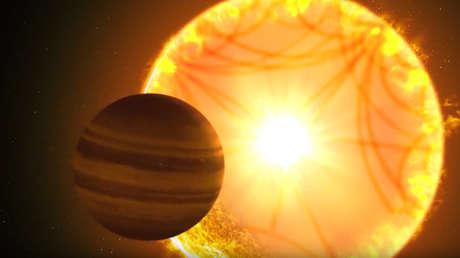 El exoplaneta TOI-197.01.