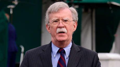 El asesor de Seguridad Nacional, John Bolton.