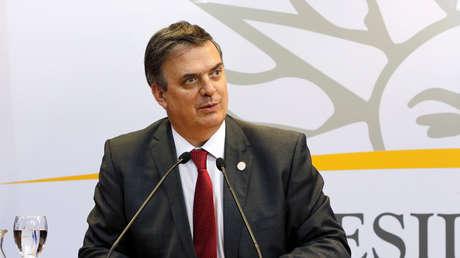 Marcelo Ebrard, secretario de Relaciones Exteriores de México, en una imagen de febrero de 2019.