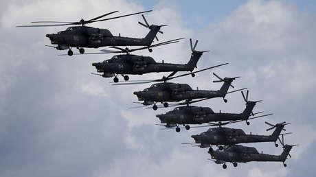 Helicópteros rusos Mi.