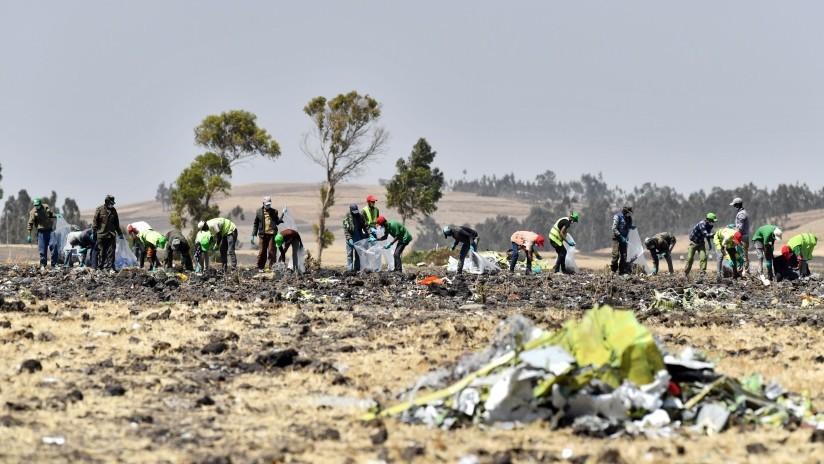 """""""¡Levántalo, levántalo!"""": trascienden los últimos minutos de vuelo del Boeing 737 Max de Ethiopian Airlines"""
