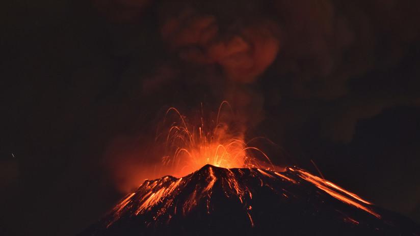 El cráter del volcán Popocatépetl aumenta de diámetro y profundidad tras las recientes erupciones