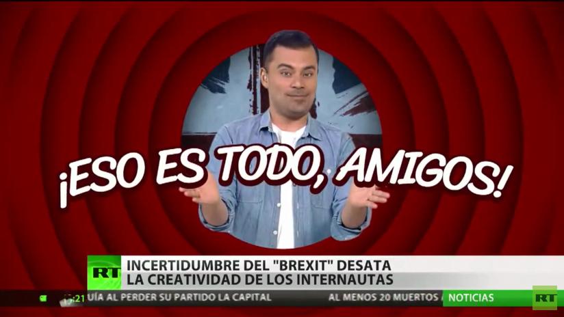 La incertidumbre del Brexit suscita la creatividad de los internautas