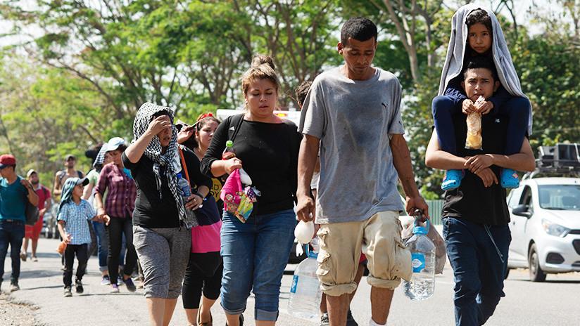 Rescatan a migrantes salvadoreños, hondureños, guatemaltecos y nicaragüenses en Chiapas