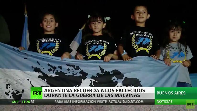 Argentina homenajea a los fallecidos en la Guerra de las Malvinas