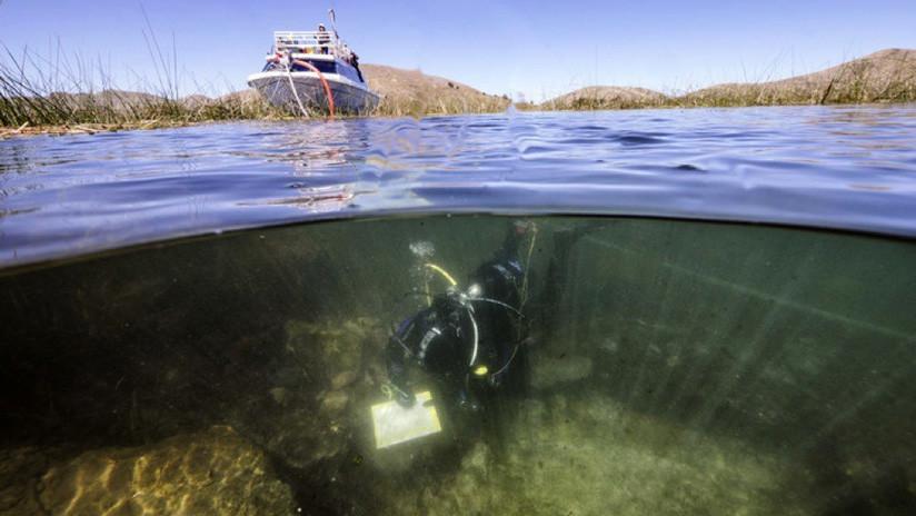 Descubren en el lago Titicaca los restos de una religión anterior a los incas