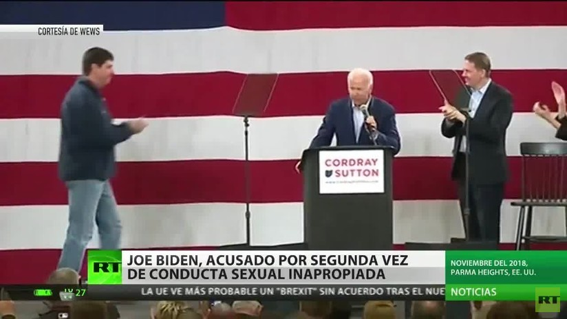 Joe Biden es nuevamente acusado de conducta sexual inapropiada