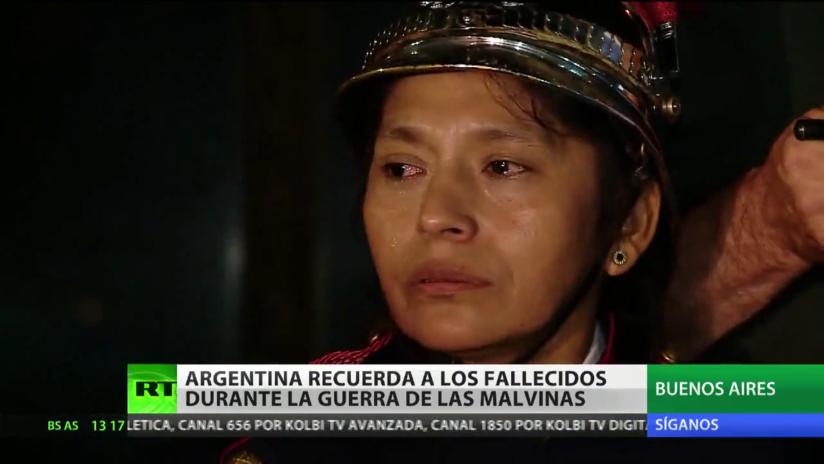 Argentina recuerda a los soldados fallecidos en la Guerra de las Malvinas