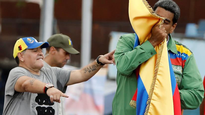 La Federación Mexicana de Fútbol podría sancionar a Maradona